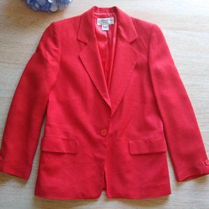 Christain Dior VTG'80s Wool Blend Blazer Suit